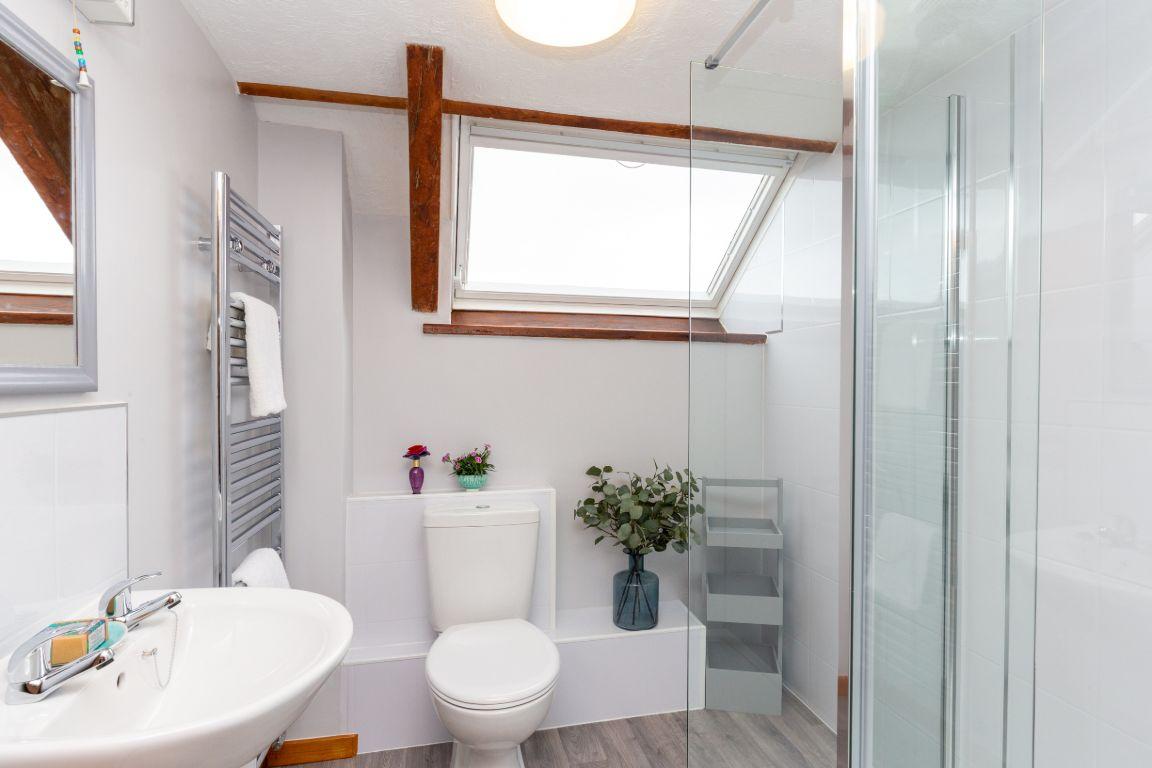 Elm Barn shower room